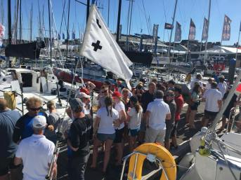 J/109 Pontoon Party at Cowes Week 2018 ©Jo Bowden